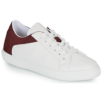 Shoes Men Low top trainers André BIOTONIC White / Bordeaux