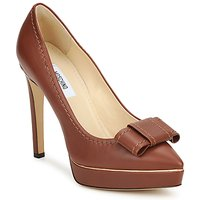 Shoes Women Court shoes Moschino MA1009 TOBACCO