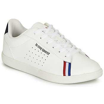 Shoes Boy Low top trainers Le Coq Sportif COURTSTAR GS SPORT BBR White