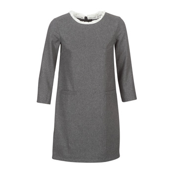 material Women Short Dresses Betty London LABAMA Grey