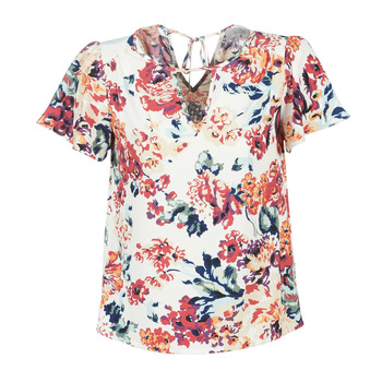 material Women Blouses Casual Attitude LAURIANA White / Multicoloured