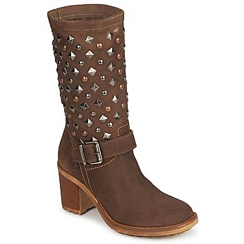 Shoes Women Ankle boots Meline DOTRE Brown
