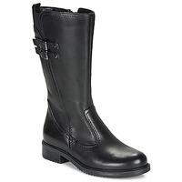 Shoes Girl Boots André APOLLINE Black