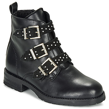 Shoes Girl Mid boots André REGLISSA Black