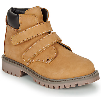 Shoes Boy Mid boots André PHILDO Brown