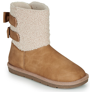 Shoes Girl Mid boots André ZAPALA Beige