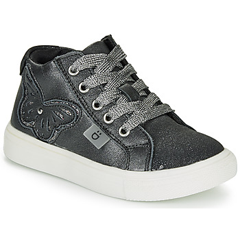 Shoes Girl High top trainers André MARIPOSA Grey