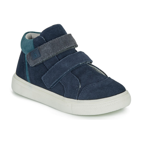 Shoes Boy Low top trainers André UBUD Marine