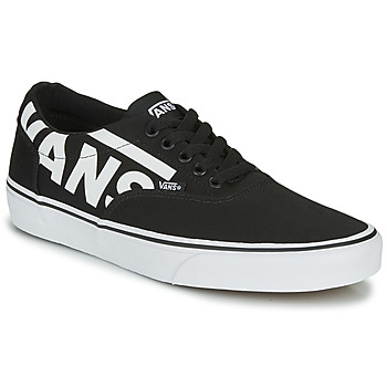 Shoes Men Low top trainers Vans WARD MEN LOGO Black