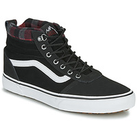 Shoes Men High top trainers Vans WARD NR MON Black