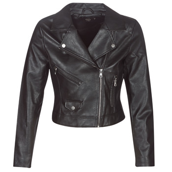 material Women Leather jackets / Imitation leather Only ONLENYA Black