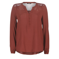 material Women Blouses Only ONLEDDIE Bordeaux