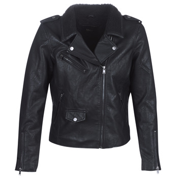 material Women Leather jackets / Imitation leather Only ONLTAYLOR Black