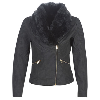 material Women Leather jackets / Imitation leather Only ONLCLASSY Black