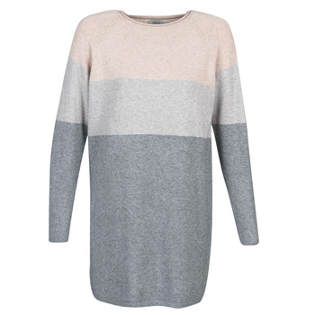material Women Short Dresses Only ONLLILLO Grey / Pink