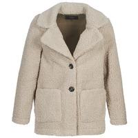 material Women coats Only ONLFILIPPA Grey
