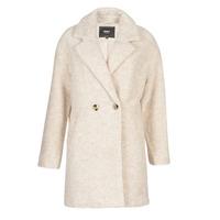 material Women coats Only ONLNINA Beige