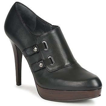 Shoes Women Low boots Stuart Weitzman TWO BUCKS Black