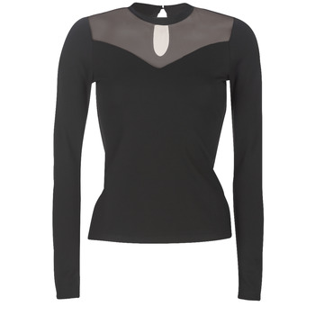 material Women Blouses Moony Mood LAMELI Black