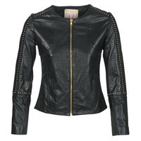 material Women Leather jackets / Imitation leather Moony Mood LIRTO Black