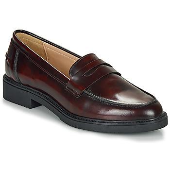 Shoes Women Loafers André NERE Bordeaux