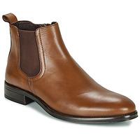 Shoes Men Mid boots André NORLAND Cognac