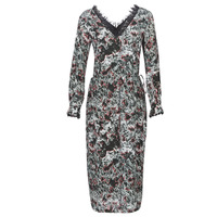 material Women Long Dresses Heimstone LAKE Black / Multicoloured