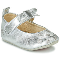 Shoes Girl Slippers Catimini CORIDA Silver