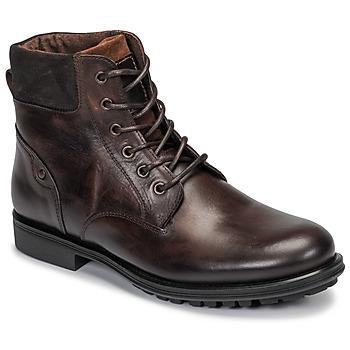 Shoes Men Mid boots André VARAPE Brown