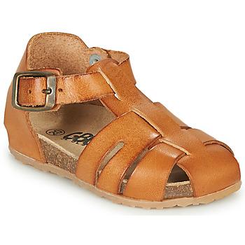 Shoes Boy Sandals GBB FREDERICO Cognac