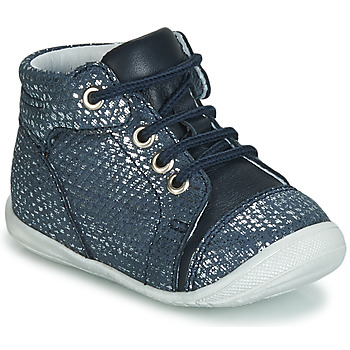 Shoes Girl High top trainers GBB OLSA Blue