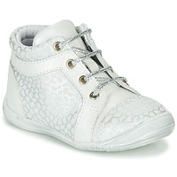 Shoes Girl High top trainers GBB OMANE Grey / White