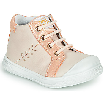 Shoes Girl High top trainers GBB AGAPE Pink