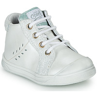 Shoes Girl High top trainers GBB AGAPE White
