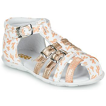 Shoes Girl Sandals GBB RIVIERA Orange