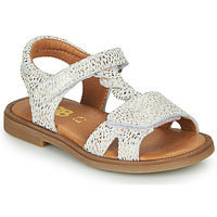 Shoes Girl Sandals GBB FARENA White / Gold