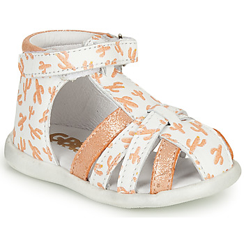 Shoes Girl Sandals GBB AGRIPINE Orange