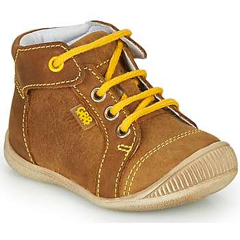Shoes Boy High top trainers GBB PARGA Brown