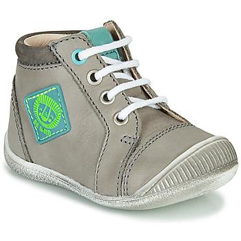 Shoes Boy High top trainers GBB TARAVI Grey