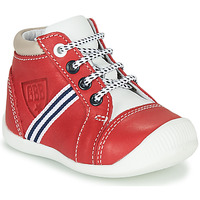 Shoes Boy High top trainers GBB GABRI Red