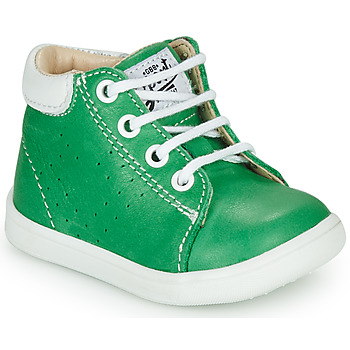 Shoes Boy High top trainers GBB FOLLIO Green