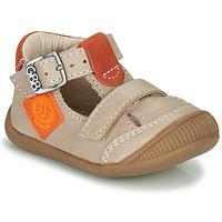 Shoes Boy Sandals GBB BOLINA Beige / Orange