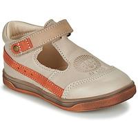 Shoes Boy Sandals GBB ANGOR Beige / Orange