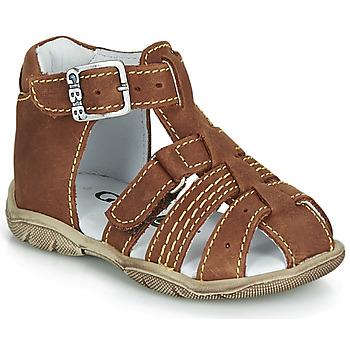 Shoes Boy Sandals GBB ARIGO Brown