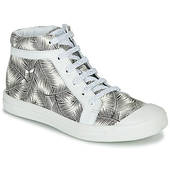 Shoes Girl High top trainers GBB NAVETTE Black / White