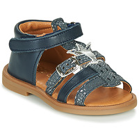 Shoes Girl Sandals GBB CARETTE Blue