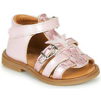 Shoes Girl Sandals GBB CARETTE Pink