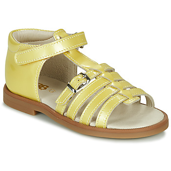 Shoes Girl Sandals GBB ANTIGA Yellow