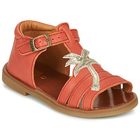 Shoes Girl Sandals GBB ARAGA Coral