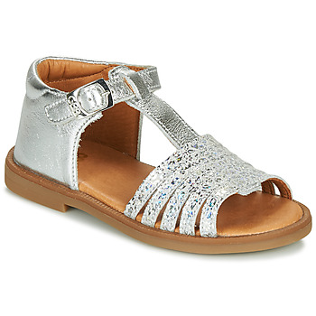 Shoes Girl Sandals GBB ATECA Silver